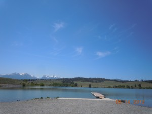 Wolf Creek Reservoir Boat Launch and Dock