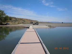 Wolf Creek Reservoir Dock