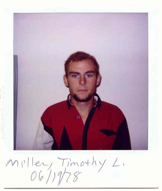 Union County Most Wanted Miller</td> <td > Timothy Loran