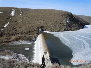 Thief Valley Reservoir Dam