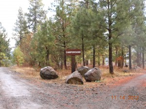 MERA Campground Sign