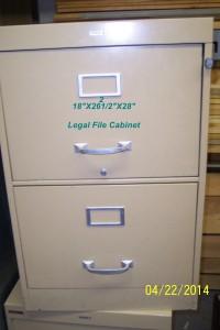 File Cabinet Beige
