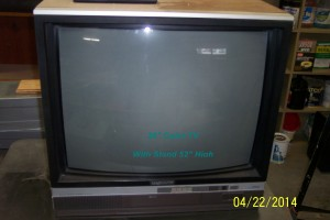 CTR Color TV and Stand