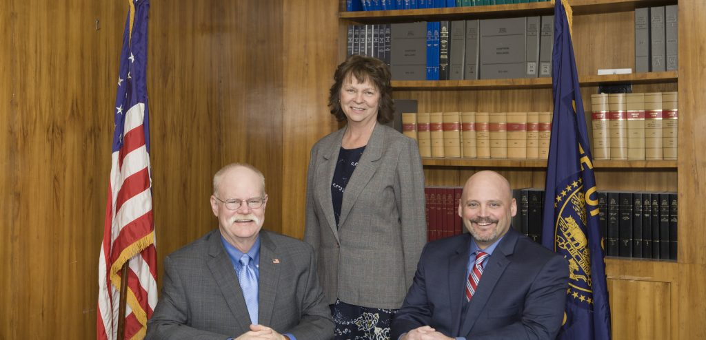 all three 2019 Commissioners