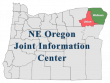 State map highlighting JIC coverage